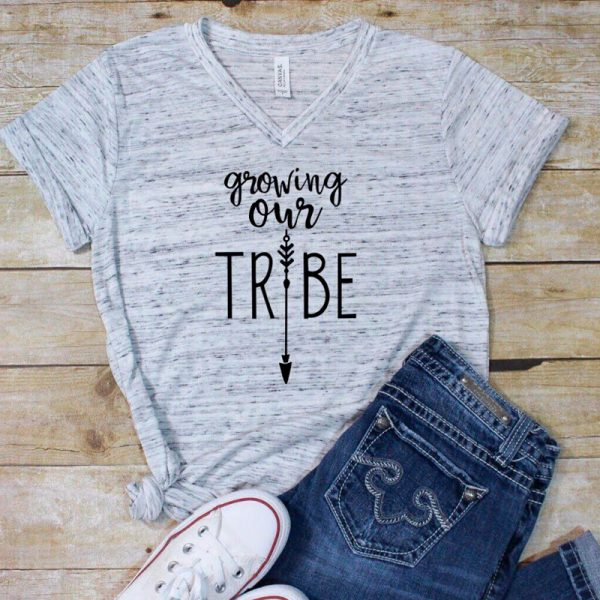 girl shirt growing our tribe